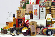 luxury hampers with chocolates