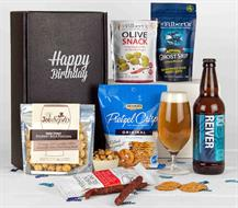 Beer and Chocolates Happy Birthday