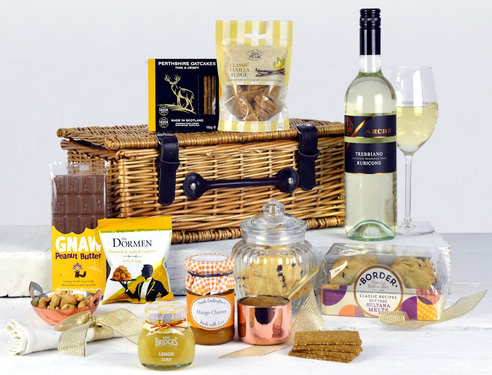 Any Occasion Hamper with White Wine