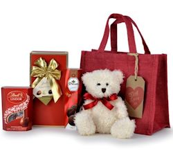 Valentines Chocolate Lovers Gift Bag