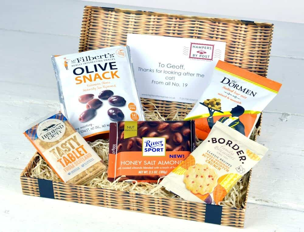 Hampers by Post Tasty Snack Box