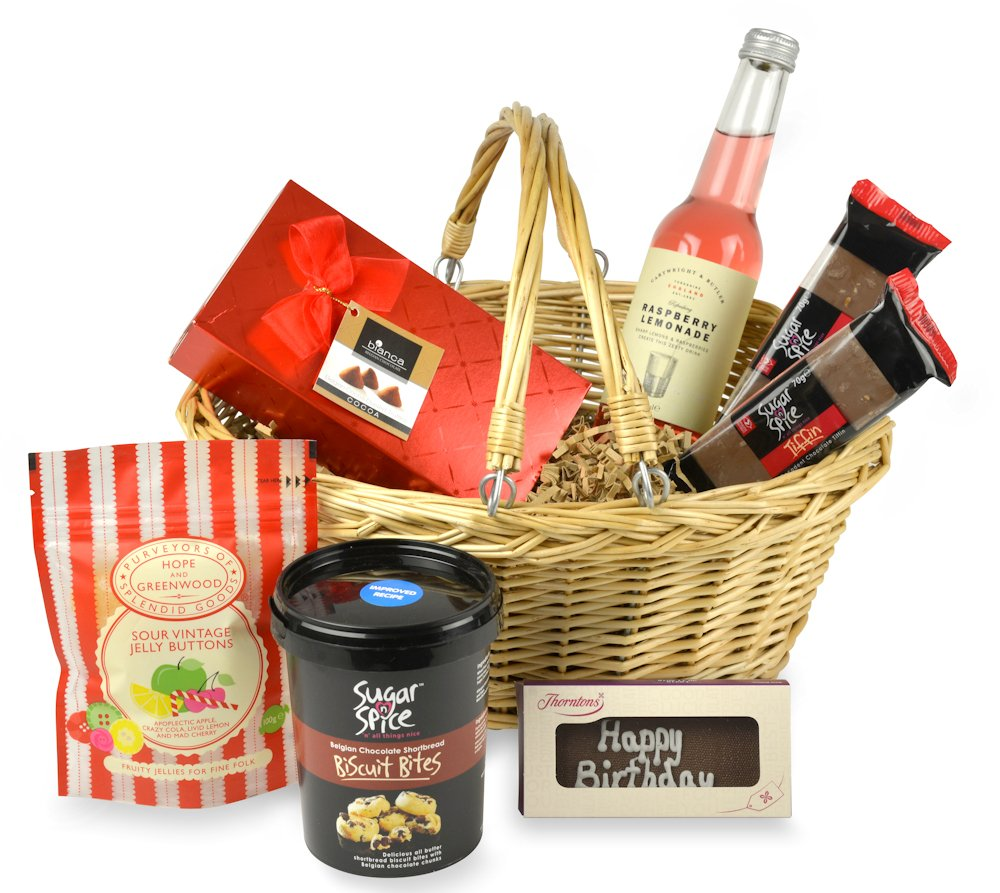 Non Alcoholic Treats Birthday Hamper