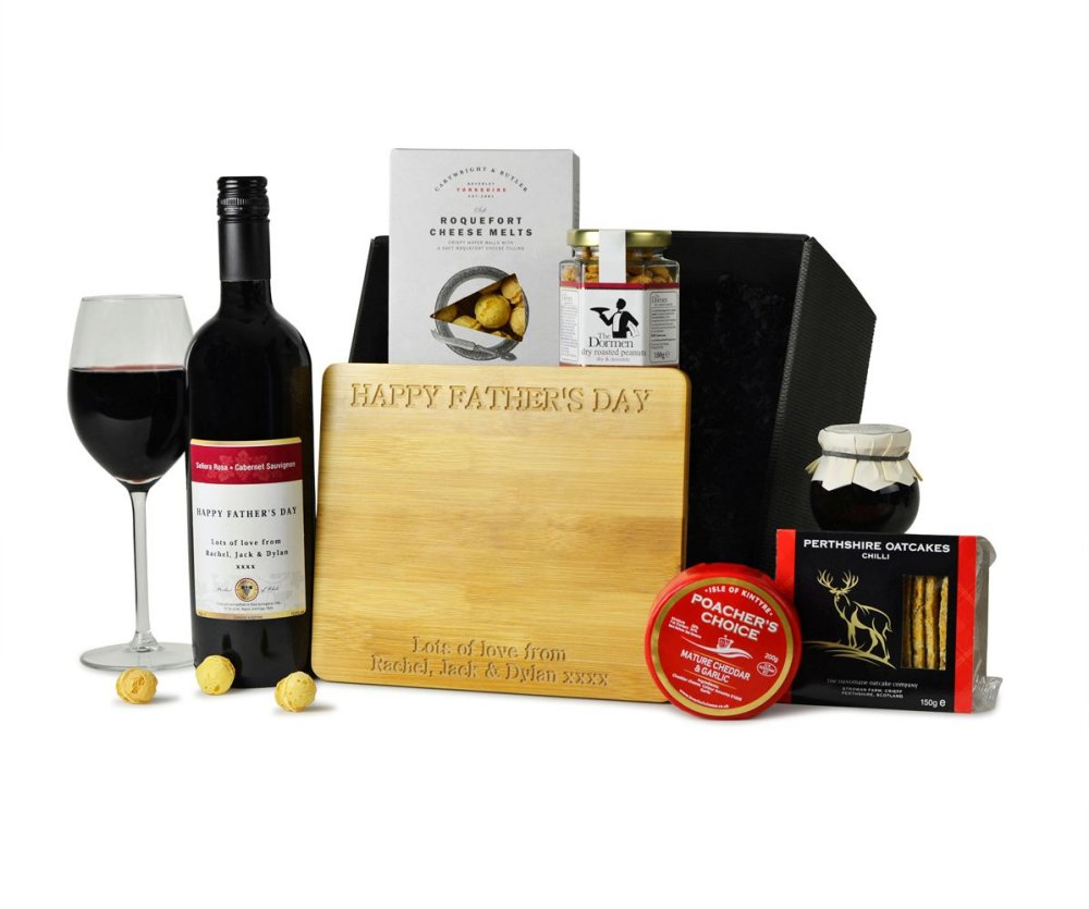 Personalised Wine & Cheese Hamper