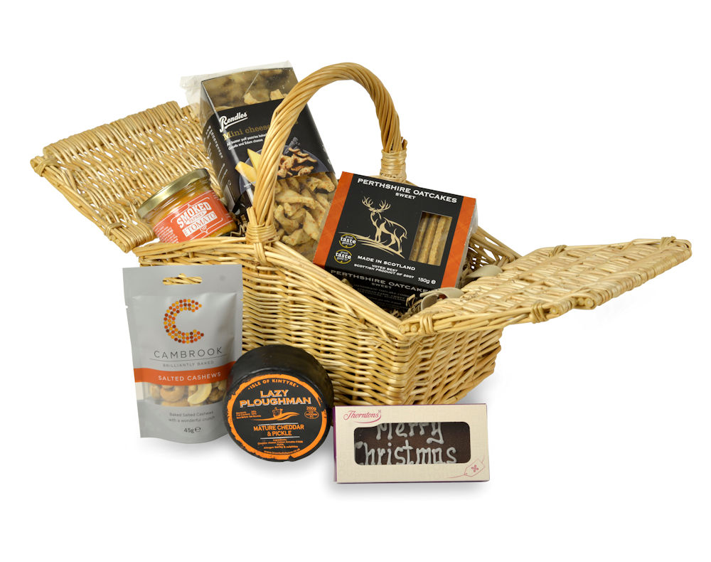 Merry Christmas Ploughmans Gift Hamper