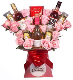 Rose Wine Lovers Bouquet