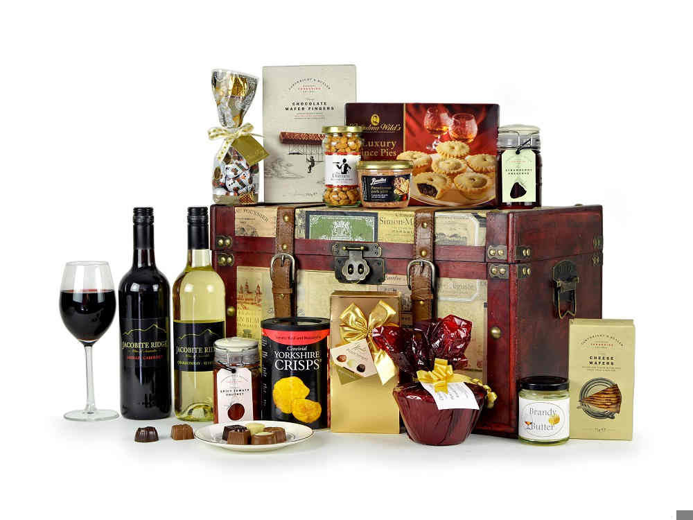 Luxury Christmas Gift Trunk