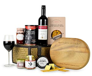 Personalised Hamper - Luxury Wooden Cheese Board