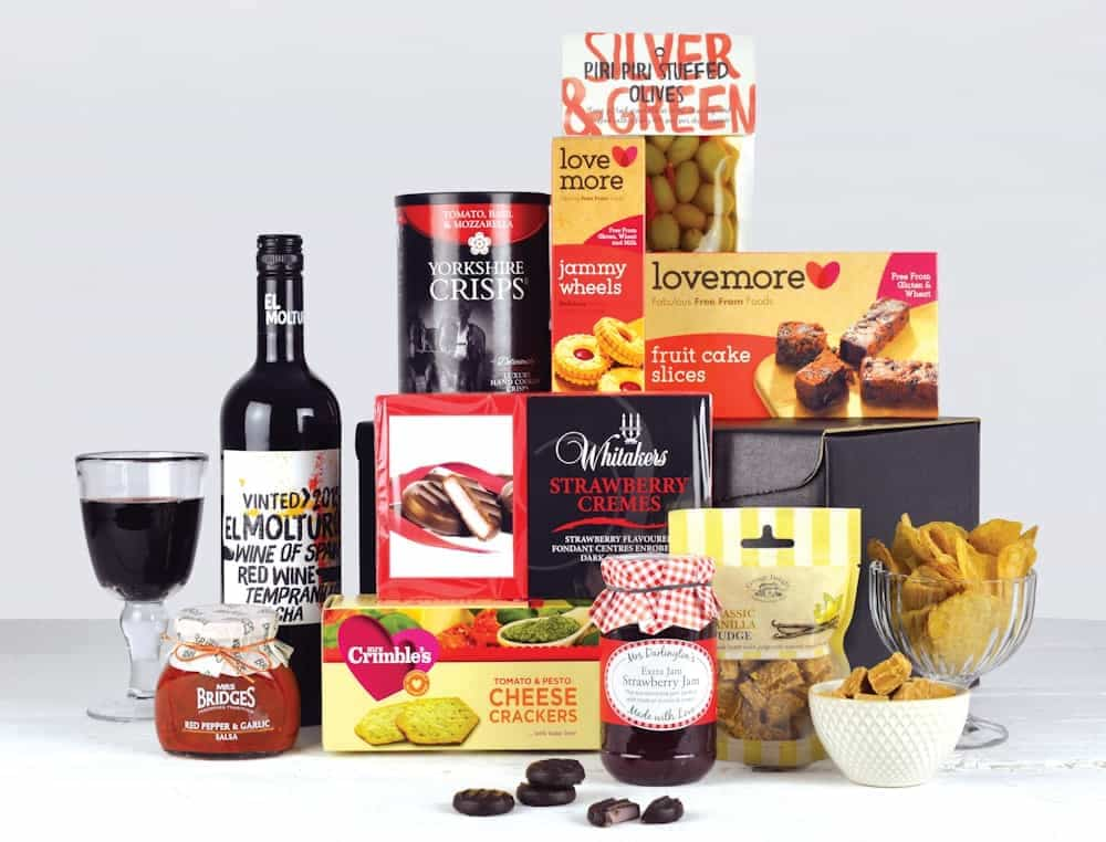 Luxury hampers hampers corporate gifts gluten free hamper negle Image collections