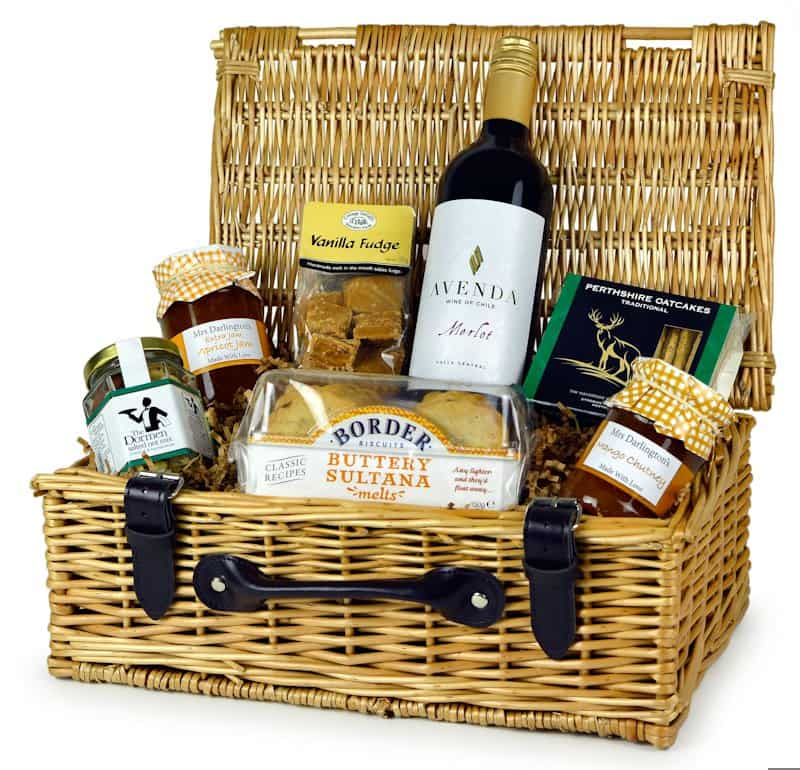 Birthday Hamper with Red Wine